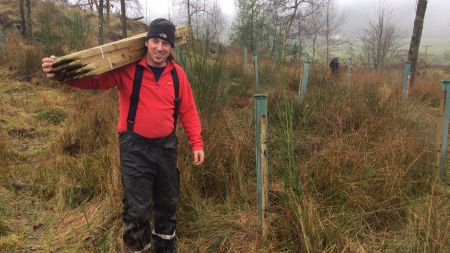 Rangers, volunteers and residents team up to help reduce Lake District flooding image