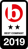 Best Company 2019 award logo